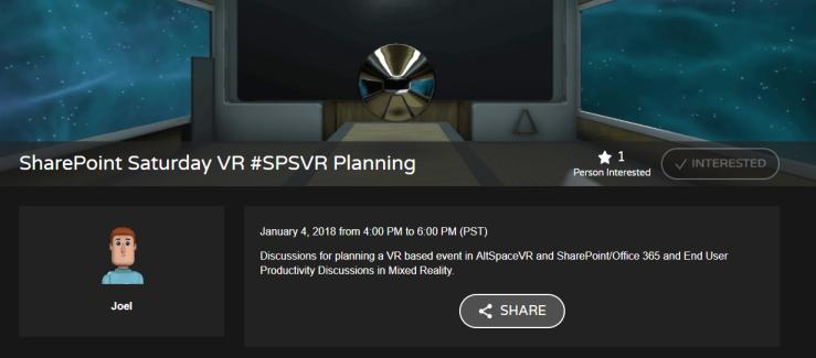 SPSVR-planning