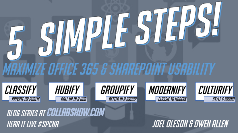 5 Powerful Steps to Maximize Office 365 & SharePointUX