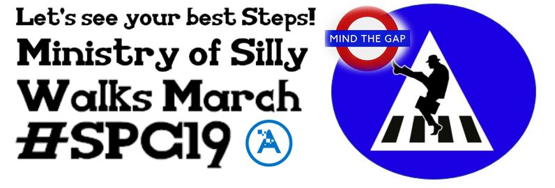Join the Ministry of Silly Walks Flashmob at #SPC19