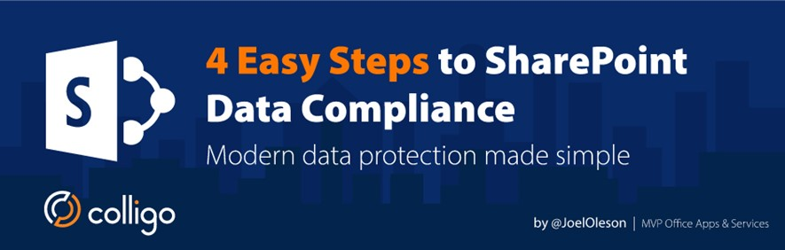 4 Easy Steps to SharePoint Data Compliance